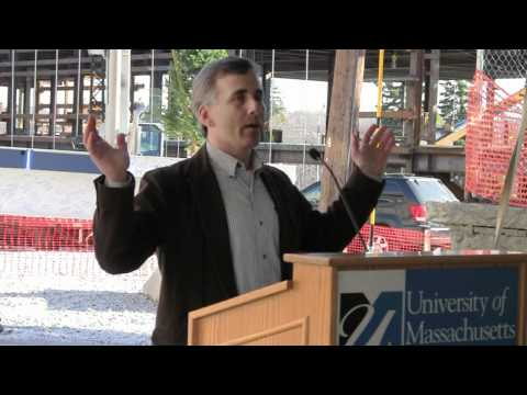 Joseph Peznola '87, Smith Hall alumnus Remarks - UMass Lowell ETIC Beam & Time Capsule Ceremony