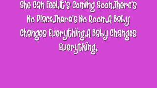 Faith Hill-A Baby Changes Everything (Lyrics)
