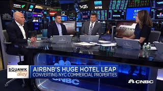 Airbnb CEO weighs in on plan to convert NYC hotel into apartment-style suites