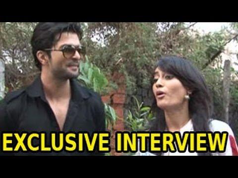 NEW Asad & Zoya's UNCENSORED INTERVIEW of Qubool Hai 6th January 2014 ...