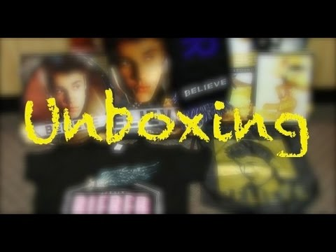 Justin bieber unboxing believe tour vip package youtube m4hsunfo