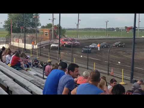 Sycamore Speedway 7-5-19 Compact Qualifying Jacob Alexander