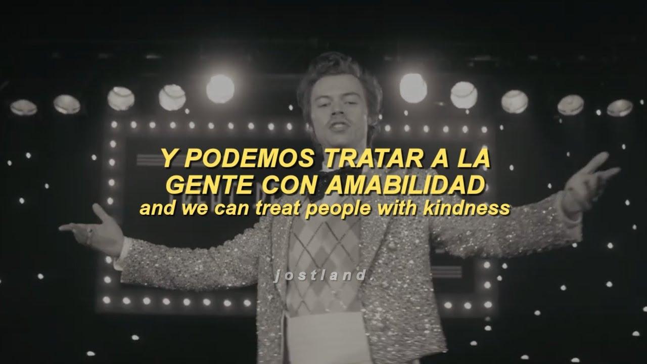 Harry Styles - Treat People With Kindness (Official Video + Español/Lyrics)