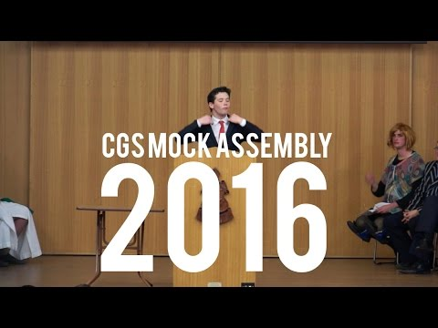 CGS Mock Assembly 2016