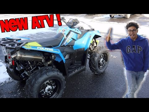 MY NEW ATV !! (POLARIS SCRAMBLER 850)
