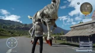 Final Fantasy XV Funny Moment - Arba Needs Help