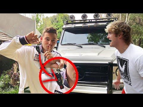 STOLE LOGAN PAUL'S YETI **prank** (he was pissed)