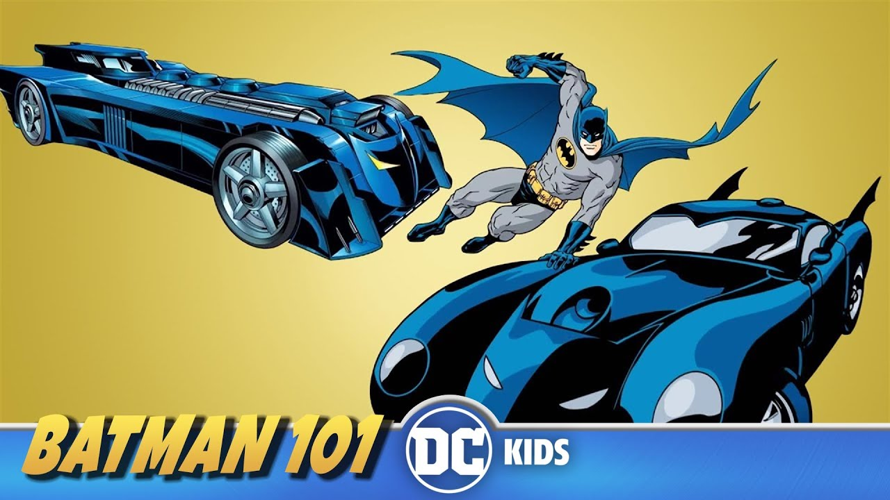 Curiosidades del Batimóvil | Batman 101 En Latino | DC Kids