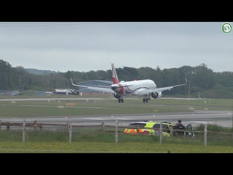 Boris Johnson Arrives In Cornwall For G7 Summit Followed By Delta Air Lines A330