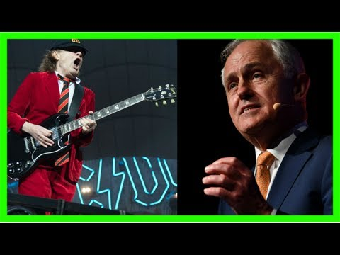 'unacceptable!' malcolm turnbull unable to name an ac/dc song when asked for his favourite