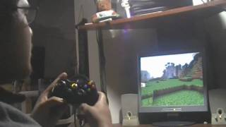 How to play Minecraft with an Xbox 360 controller!
