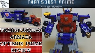 "Transformers Armada Leader Optimus Prime! ""That's Just Prime!"" EP 63"