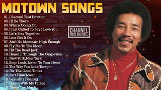 Motown Greatest Hits Of The 70s - Smokey Robinson, Jackson 5, Marvin Gaye, Al Green, Luther Vandross