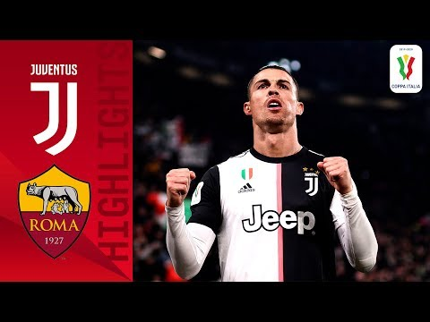 Juventus 3-1 Roma | CR7 on target as Juve beat Roma in quarterfinal! | Quarter-final | Coppa Italia