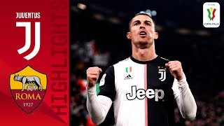 Juventus 3-1 Roma | Cr7 On Target As Juve Beat Roma In Quarterfinal! | Quarter-final | Coppa Italia