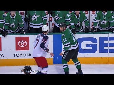 Josh Anderson vs Jamie Benn Nov 12, 2018