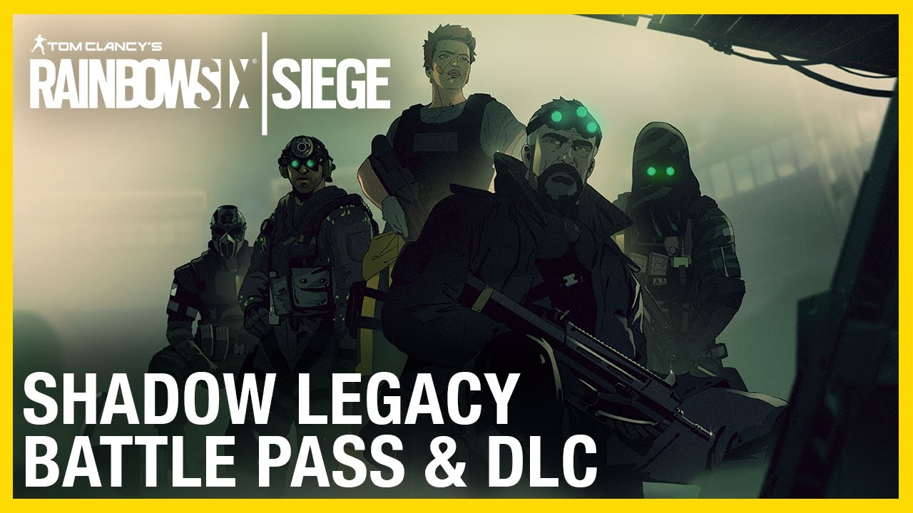 Rainbow Six Siege: Operation Shadow Legacy Battle Pass & DLC Trailer | Ubisoft