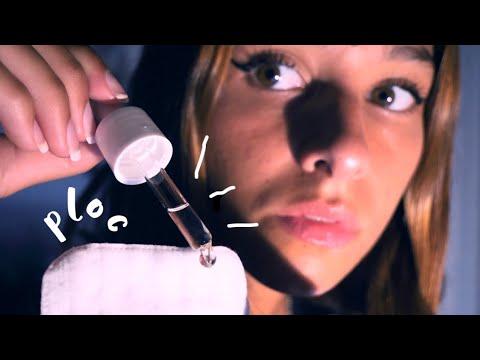 ASMR FRANÇAIS - Laisse-moi nettoyer tes yeux en profondeur !