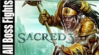 Sacred 3 All Boss Fights