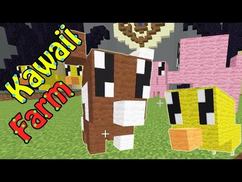 Minecraft / Team Build Battle / Kawaii Farm / Radiojh Games