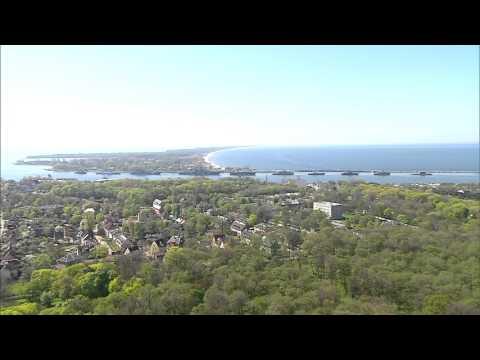 Балтийск с вертолета