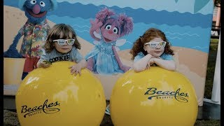 Beaches Resorts - Sponsors Sesame's 50th Anniversary Road Trip!