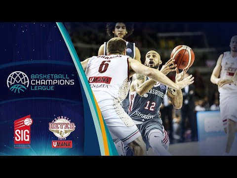 SIG Strasbourg v Umana Reyer Venezia - Full Game - Basketball Champions League