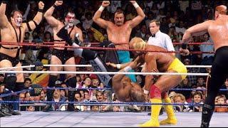 8 Man Elimination Match. From WWE Survivor Series 11/23/89