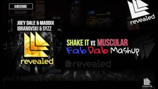 Joey Dale & Maddix Vs Ibranovski &Syzz - Shake it Vs Muscular (Fab Dab Mashup)