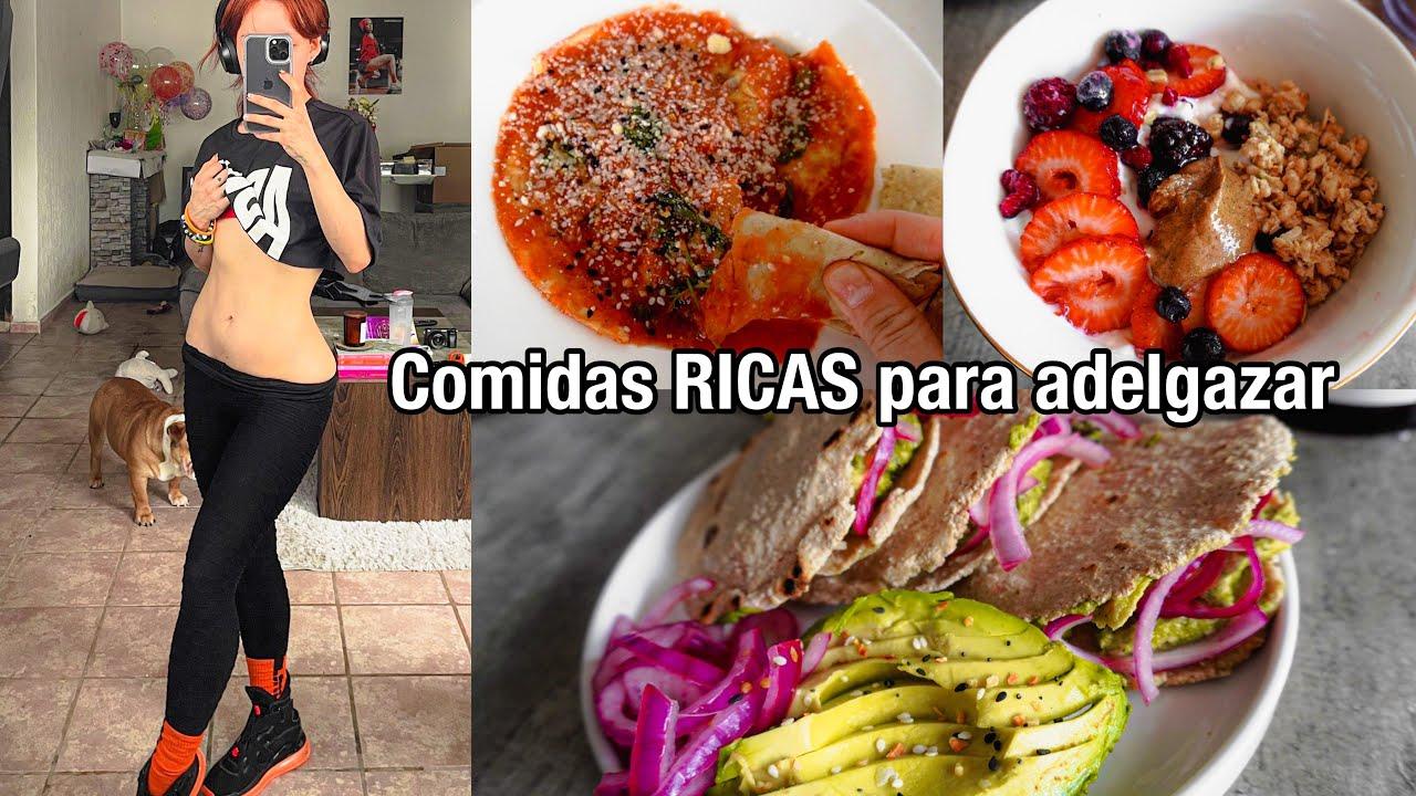 MIS COMIDAS PARA BAJAR DE PESO (delicioso, nutritivo & rápido)