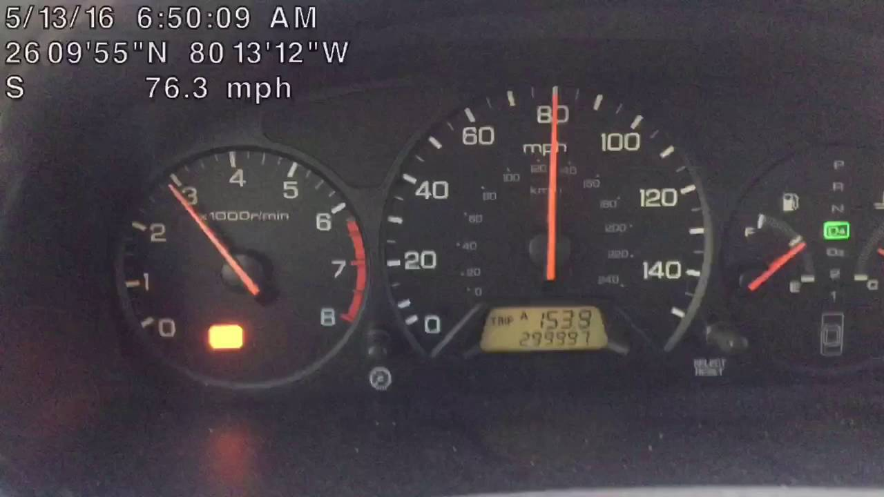 98 Honda Accord 300 000 Miles