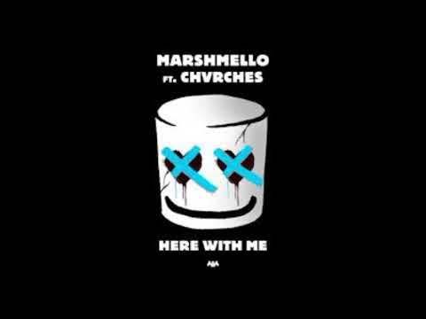 Marshmello - Here With Me Feat. CHVRCHES (1 Hour Loop)