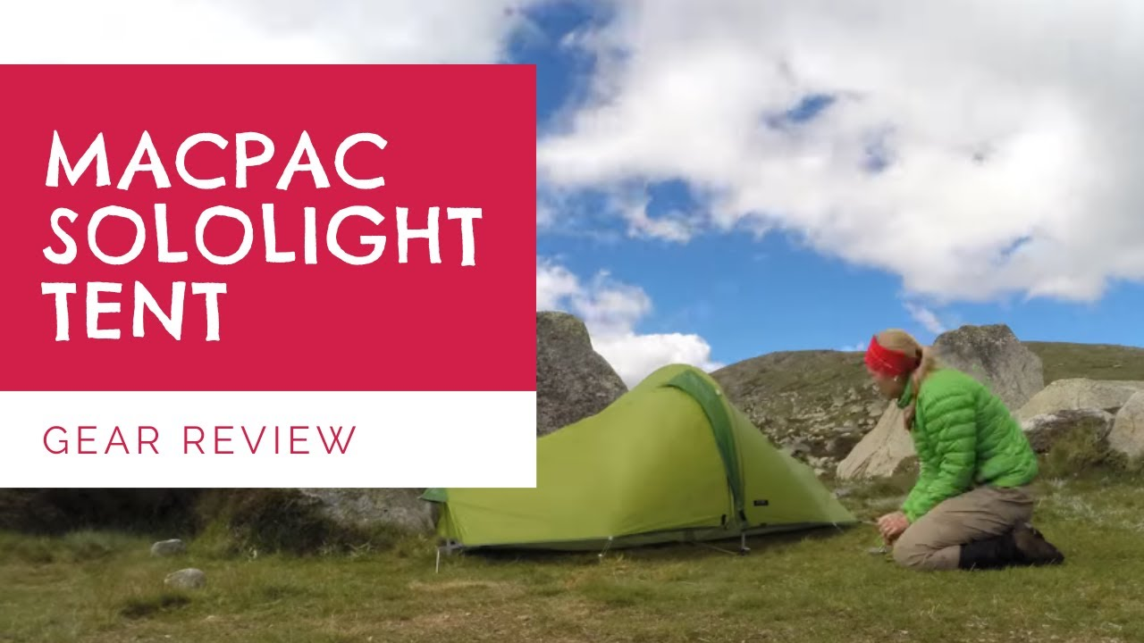 & Macpac Sololight Tent - YouTube