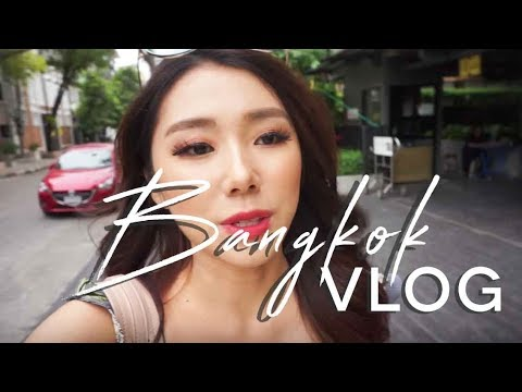 BANGKOK VLOG - CAFE HOPPING, VIRTUAL REALITY GAME | MONGABONG