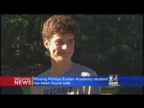 Missing Phillips Exeter Academy Student Found Safe