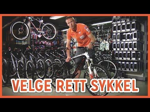 Hvordan Velge Rett Sykkel?