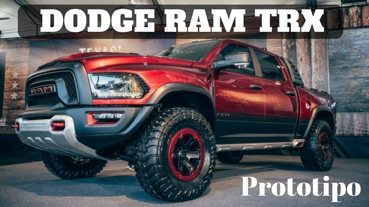 Nueva camioneta RAM Rebel TRX. Primeras imagenes - YouTube