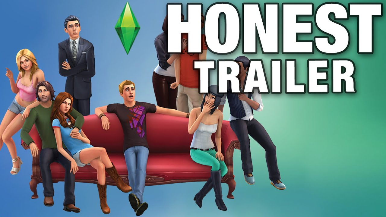 The sims honest game trailers youtube for Online games similar to sims