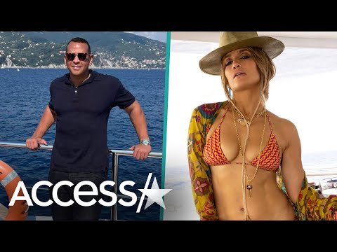 Alex Rodriguez And JLo Party In St. Tropez On Separate Yachts