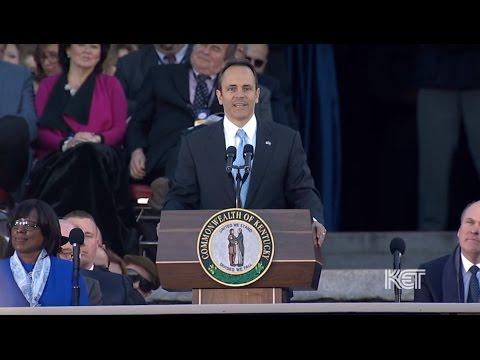 Gov. Matt Bevin Public Public Swearing-In | Ky. Gubernatorial Inauguration 2015 | KET