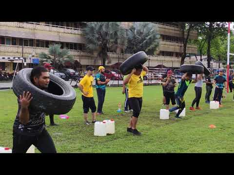 SpartanFit Challenge Part 1 - Fitwell Carnival 2020 UTM Kuala Lumpur