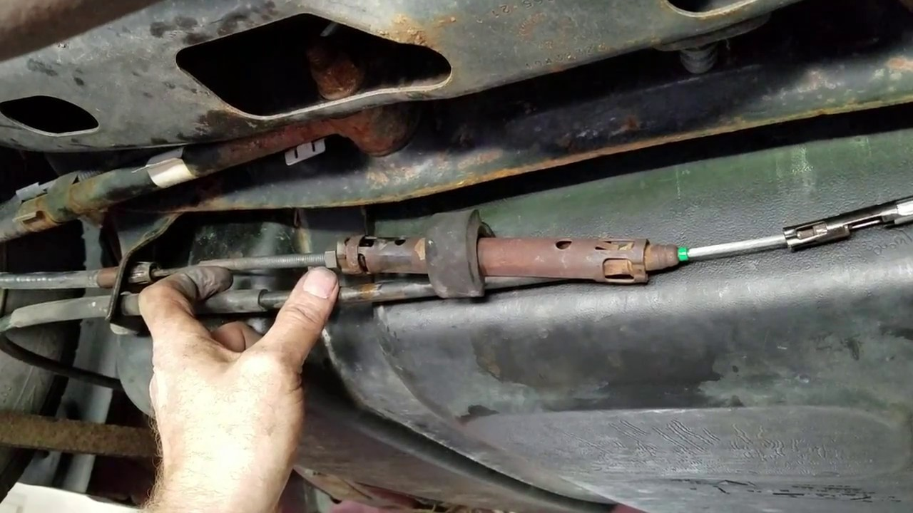 2000 Ford Edge >> Replacing Parking Brake Cable on 2004 Pontiac Grand Prix GTP - YouTube