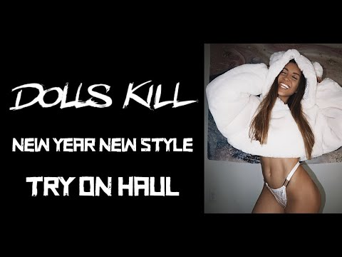 DOLLS KILL TRY ON HAUL NEW YEAR NEW STYLES!!!