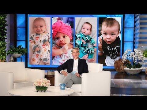 Ellen Rate My Baby: A New Crop of Staff Babies!