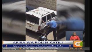 Polisi anaswa kwa kamera akimtesa mshukiwa