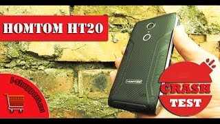 КРАШ-ТЕСТ HOMTOM HT20: честная проверка смартфона на прочность (real Crash Test)