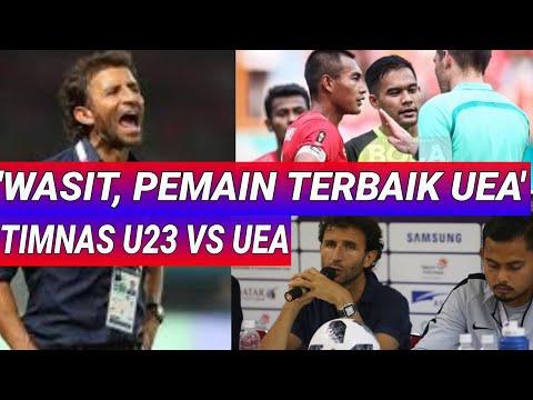 BEGINI MILLA KLO EMOSI SAMA WASIT;INDONESIA VS UEA;ASIAN GAMES;TIMNAS U23;PENALTI 4-3;TERSINGKIR;UE