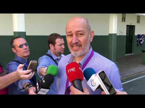 El candidato de Unidas Podemos, Ramón Rodríguez, denuncia acoso