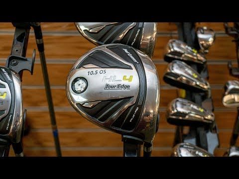 The All-new Tour Edge HL4 Golf Clubs (HL4 Driver, Hybrid Iron, Iron Wood)