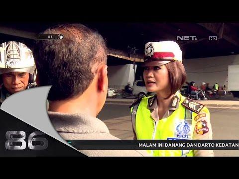86 - Razia Motor Gandeng di Grogol Jakarta Barat  - Brigadir Herlina Swandi